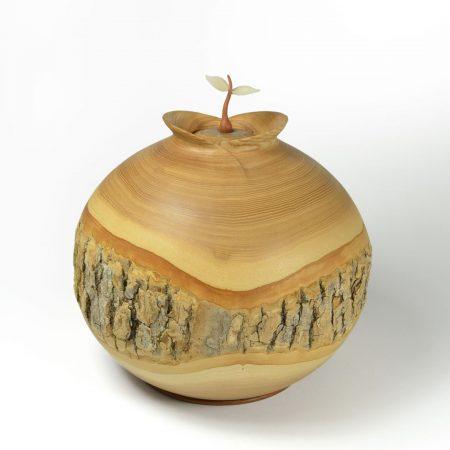 Urne écologique sculptée