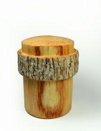 Urne en bois